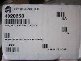AMAT 4020250 THT_MOT 1 Right Limit EL