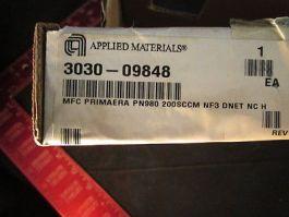 AMAT 3030-09848 MFC PRIMAERA PN980 200SCCM NF3 DNET NC H