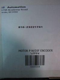 HarmonicDrive 1000059 MOTOR,P,W/DIF,ENCODER