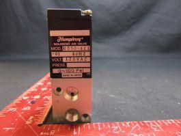 HUMPHREY H050-4E1-01 SOLENOID VALVE 60Hz 120VAC 0~100Pal