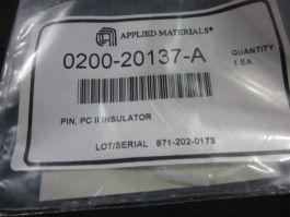 APPLIED MATERIALS (AMAT) 0200-20137   Pin, PC II Insulator