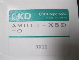CKD CORPORATION AMD11-X5D-0 VALVE, PNEUMATIC FOR CHEMICAL
