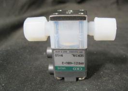 CKD AMDZ1-6BU-2 VALVE SEMIX SOLVENT RINSE V16-2