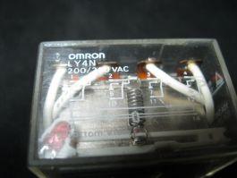 OMRON LY4N RELAY 4PST 200220VAC 10A240VAC 10A28VAC