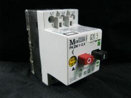 KLOCKNER-MOELLER PKZM-1-2-4 CIRCUIT BREAKER PKZM 1-24