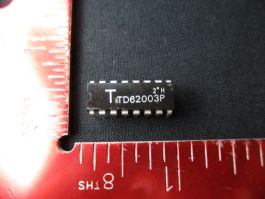 TOSHIBA TD62003P IC, 16 PIN (PACK OF 6)